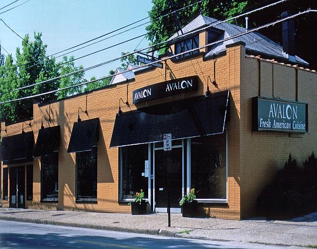 Avalon resturant for Design exterior restaurant